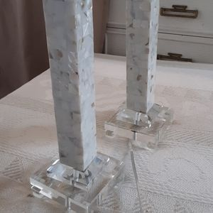 Portable marble Lamps